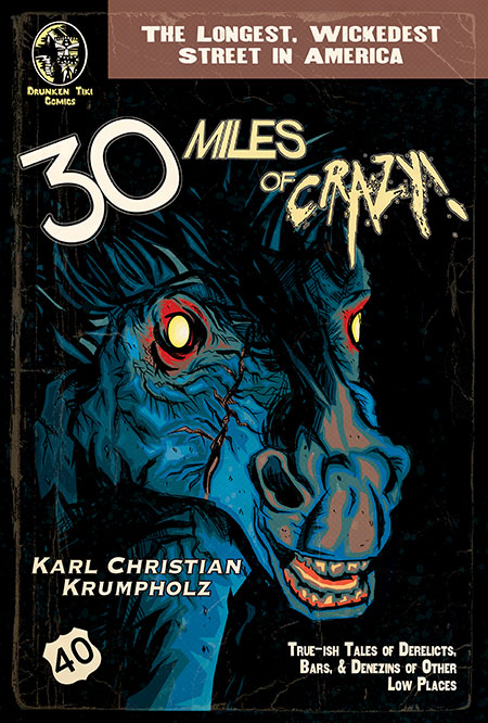 30 Miles of Crazy! Front Cover